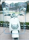 電動車透明擋風板 加大防風加厚 摩托車電瓶車擋風罩高清前擋雨板 ATF安妮塔小舖