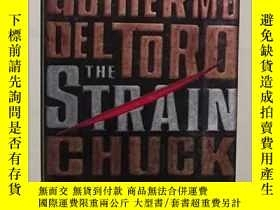 二手書博民逛書店英文原版罕見The Strain by Guillermo De