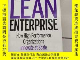 二手書博民逛書店Lean罕見Enterprise How High Performance Organizations Innov