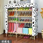 簡易鞋架實木多層收納組裝木質防塵小鞋櫃現代簡約經濟性家用  全館免運 IGO