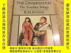 二手書博民逛書店The罕見Dissertation: A Novel (Nort