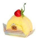 【日本製】【Le patissier】日本製 今治毛巾 蛋糕捲造型 橘子橙(一組:3個) SD-4028-3 - 日本製