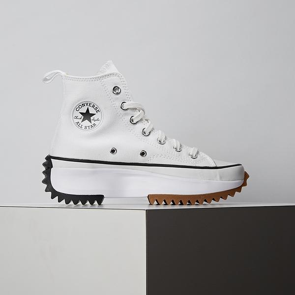 Converse Run Star Hike 男女鞋 白色 鋸齒 厚底 非JW聯名款 休閒鞋 166799C