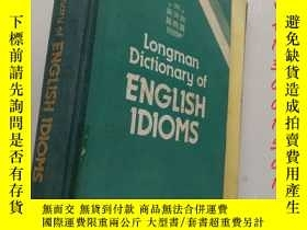 二手書博民逛書店Longman罕見Dictionary:English Idio