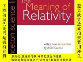 二手書博民逛書店The罕見Meaning Of Relativity, Fifth EditionY255562 Albert