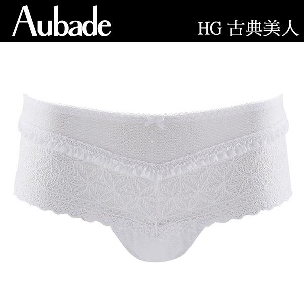 Aubade-古典美人C-D水滴薄襯內衣(白)HG