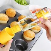 耐高溫小油刷廚房油瓶燒烤刷 烘焙硅膠刷蛋糕烘培刷子      蜜拉貝爾