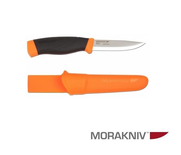 丹大戶外用品【MORAKNIV】瑞典COMPANION HEAVY DUTY 高碳鋼強力直刀 橘 12211