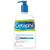 Cetaphil 舒特膚溫和潔面清潔乳 591ml 洗臉/沐浴/卸妝多用途 敏感肌適用【SP嚴選家】