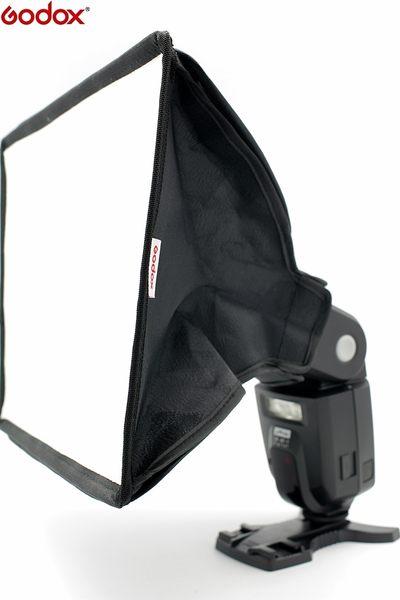 我愛買#神牛Godox通用型SB2030(大)機頂閃燈柔光罩可調組裝式適SB-910 SB-900 SB-700 Canon 580EX 430EX II 2