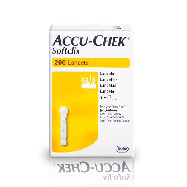 羅氏ACCU-CHEK 舒柔採血針SOFTCLIX 200支入(羅氏血糖機專用) 專品藥局 [2002592]