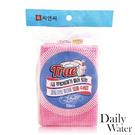 【韓國 DAILY WATER】拋棄式菜瓜布-含清潔液 (10入/包)