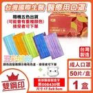 台灣國際生醫 雙鋼印 成人醫療口罩 醫用...