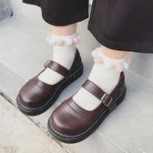 洛麗塔小皮鞋女學生韓版百搭ulzzang2018新款軟妹瑪麗珍鞋一字扣 米希美衣