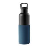 【HYDY】時尚保溫瓶 海軍藍-黑瓶 (590ml)
