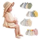 5雙入-嬰兒襪 超薄兒童網眼襪防蚊襪子立體鏤空船襪-JoyBaby