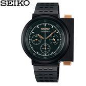 【時間光廊】SEIKO 精工錶 SPIRIT 全黑 三眼限量錶款 全新原廠公司貨 SCED043J