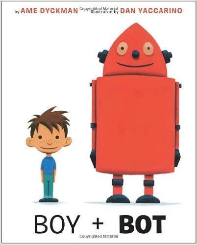 BOY + BOT / 英文繪本《主題:溫馨情誼》
