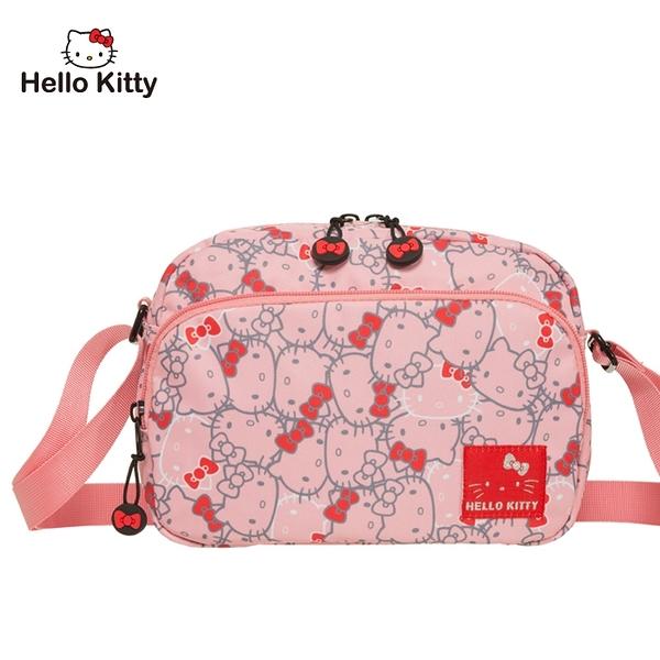 【橘子包包館】Hello Kitty 繽紛凱蒂-側背包-粉 KT01V02PK 斜背包
