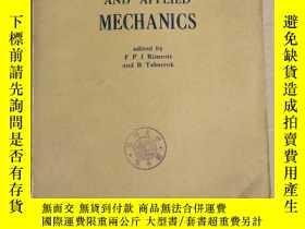 二手書博民逛書店theoretical罕見and applied mechanics(P2536)Y173412