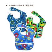 【美國Bumkins】SuperBib 無袖防水兒童圍兜-童趣男生款(3入)