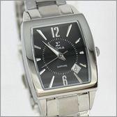 【萬年鐘錶】SIGMA日系 黑經典時尚女錶 8801L-1