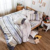 床包被套組 / 雙人【彩遊之嬉-兩色可選】含兩件枕套  100%天絲  戀家小舖台灣製AAU212