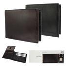 Calvin Klein荔枝紋皮革可拆式證件短夾鑰匙圈禮盒(2色)103000