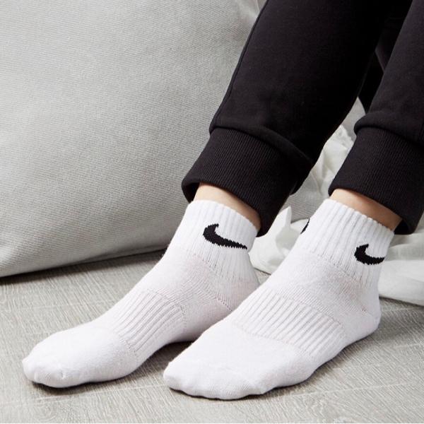 【現貨】NIKE Everyday Lightweight 襪子 短襪 Dri-FIT 乾爽 透氣 白 3入一組 基本 休閒 運動 SX7677-100