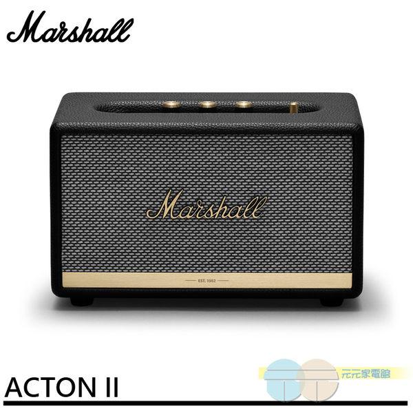 *元元家電館*Marshall 藍牙喇叭 經典黑 Acton II