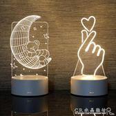 小檯燈創意卡通床頭臥室燈夢幻柔光生日禮物LED嬰兒喂奶起夜燈 水晶鞋坊igo
