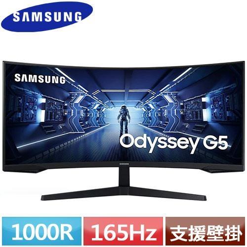 SAMSUNG三星 34型 21:9電競曲面螢幕 Odyssey G5 C34G55TWWC