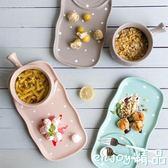 新年鉅惠 陶瓷餐具早餐盤家用創意餐盤托盤點心盤長方形盤子托盤