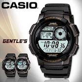CASIO手錶專賣店 卡西歐 AE-1000W-1A 男錶 黑框 數位 秒錶 防水100米 LED照明 橡膠錶帶