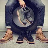 馬丁靴新款男高幫鞋冬季棉鞋潮流工裝雪地軍靴英倫休閒馬丁靴男 全館免運