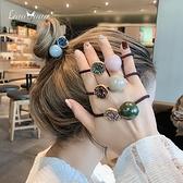 ins少女捷克鉆頭繩女簡約韓版網紅可愛髮圈韓國高彈皮筋髮繩頭飾 Korea時尚記