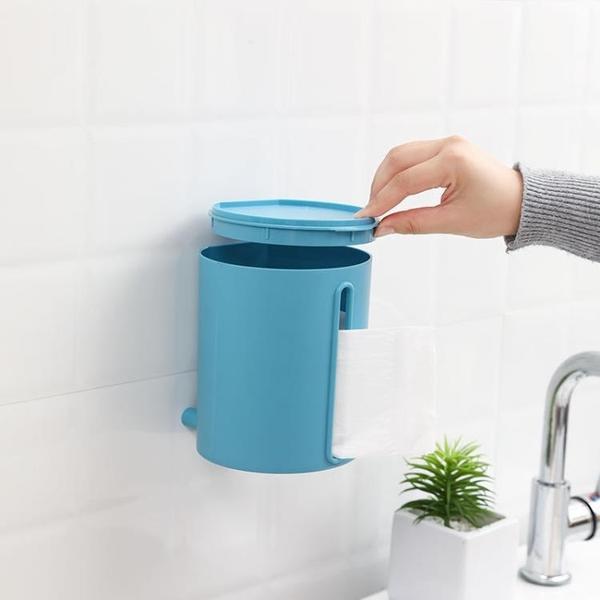紙巾架 衛生間紙巾盒廁所衛生紙卷紙免打孔壁掛式創意家用抽紙廁紙置物架