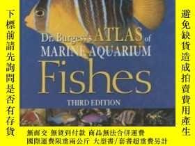 二手書博民逛書店Dr.罕見Burgess s Atlas Of Marine Aquarium Fishes <3rd Ed