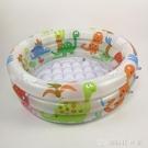 兒童游泳池充氣家庭嬰兒成人家用海洋球池加厚超大號戲水海洋球池充氣泳池 【全館免運】YJT