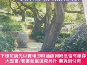 二手書博民逛書店《Power罕見of Gardens ,Nancy Goslee Power》花園的魅力。12開精裝英文版(外文原