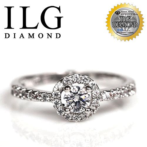 【ILG鑽】頂級八心八箭鑽石戒指-優雅巴黎款 主鑽20分 細緻超閃耀邱比特切工鑽戒 RI065
