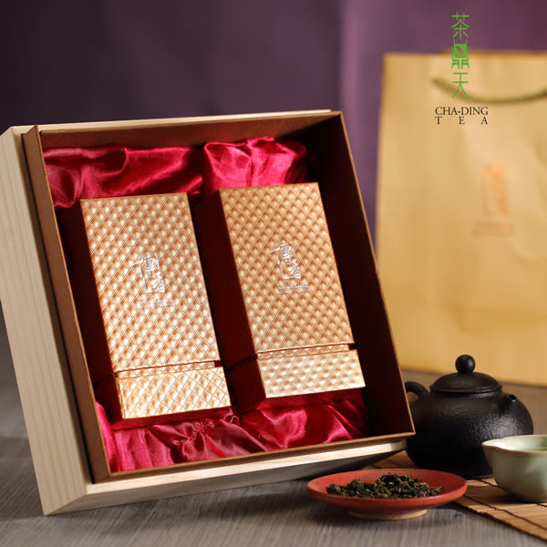 禮盒【茶鼎天】極品傳香-梨山茶禮盒(150gx2入)