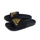 adidas 拖鞋 運動型 黑/金 男鞋 EG1850 no921