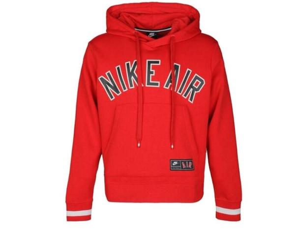 NIKE系列-S.G NIKE AIR 男款紅色運動長袖帽T-NO.AR1818657
