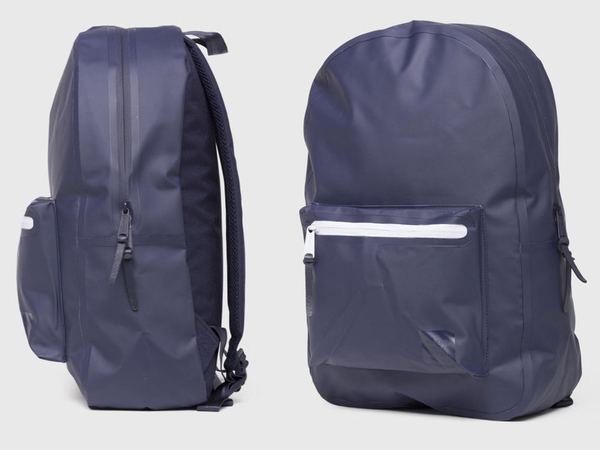 Hsin 76折 現貨 Herschel Settlement 高階 Studio Peacoat 深藍 紫色 防水 帆布 後背包