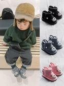 尾牙全館9折 寶寶雪地靴男1-3歲男童靴子加絨棉鞋女嬰幼兒冬加厚小童軟底短靴