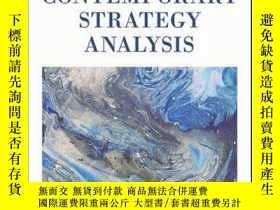 二手書博民逛書店Contemporary罕見Strategy Analysis: Text and Cases Edition,