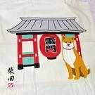 淺草雷門 柴犬 和風 大購物袋 帆布 手提袋 日本正版 100%棉
