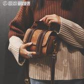 手提包  小包包女韓版波士頓手提包港風復古單肩斜背包少女小挎包 繽紛創意家居