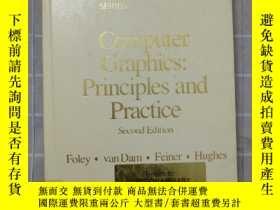 二手書博民逛書店【館藏書】computer罕見graphics:principles and practice second ed